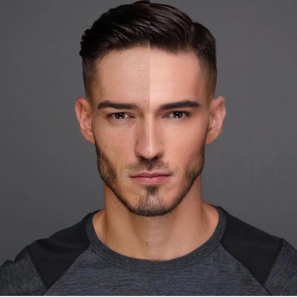 maquillaje en hombres y paises que lo normalizan