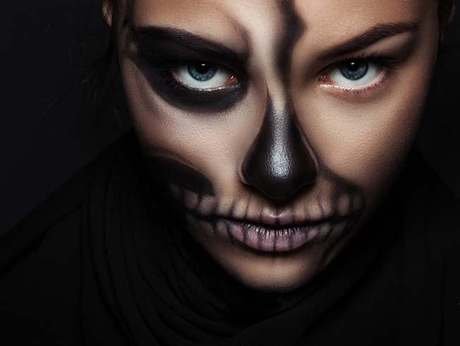 ideas de maquillajes de halloween 2020