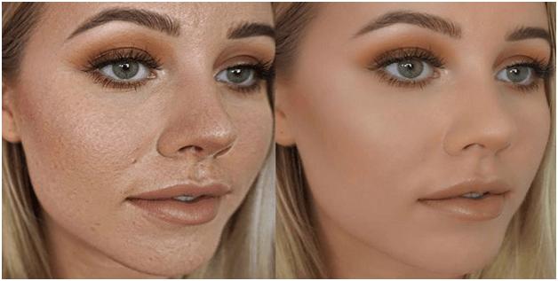 por que el maquillaje se cuartea